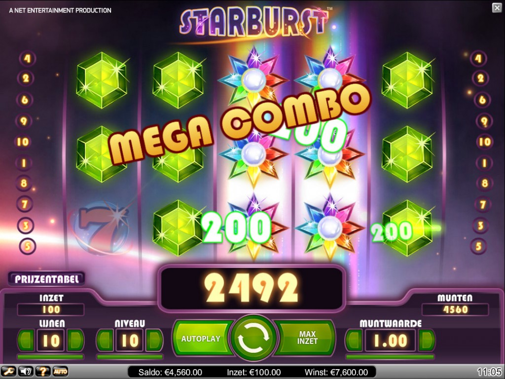 golden online casino starburdt
