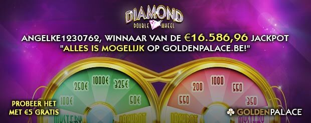 Jackpot Winnaar - GoldenPalace.be