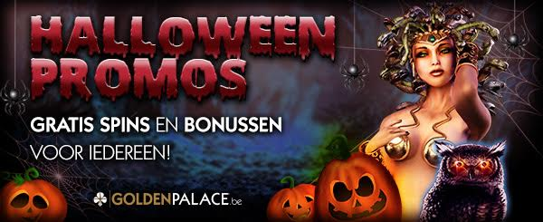 Halloween Promoties Golden Palace