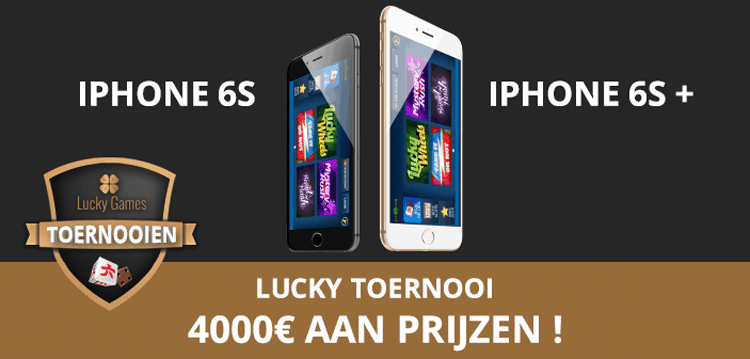 iPhone tornooi LuckyGames.be