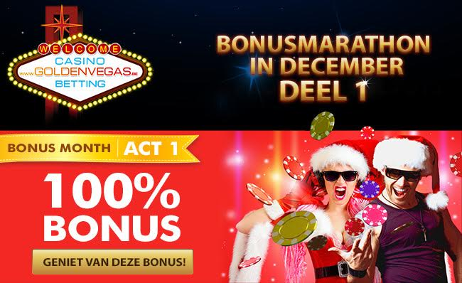 December Bonus GoldenVegas.be