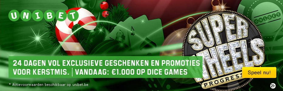 Dice Game Promotie Unibet.be