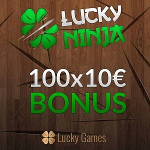 Ninja Bonus LuckyGames.be
