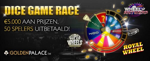 Dice Game Race - GoldenPalace.be