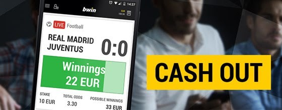 Cash Out op bwin.be