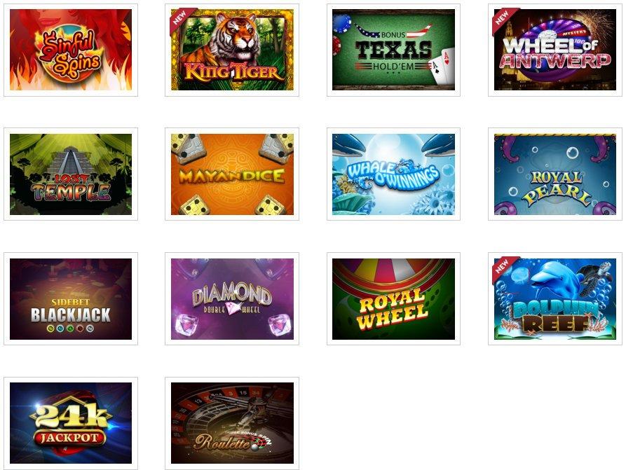 Dice Games Promotie