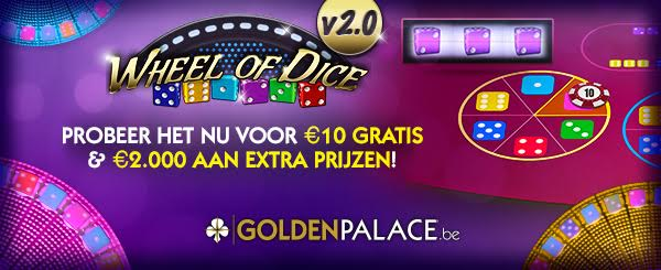 Wheel of Dice - GoldenPalace.be