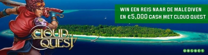 Cloud Quest Promo - Unibet.be
