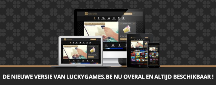 Nieuwe Website LuckyGames.be