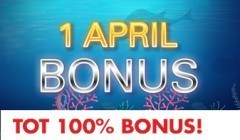 1 April Bonus Circus.be
