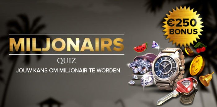 Miljonairs Quiz Casino777.be