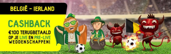 België - Ierland - betFIRST.be promo