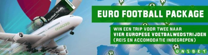 Euro Voetbal Promotie Unibet.be