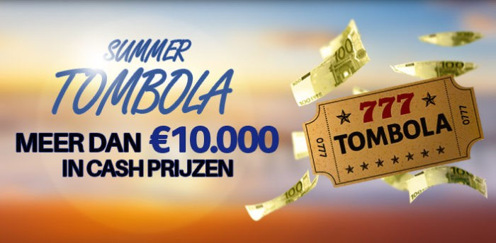 Summer Tombola Casino777.be