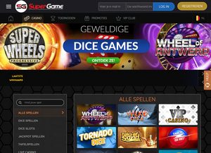 SuperGame.be Website