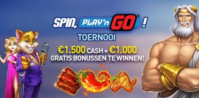 Spin, Play 'N Go Toernooi