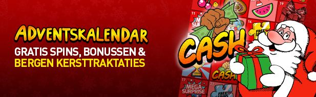 Adventskalender 777.be Kerstcadeaus