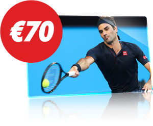 €70 Freebet Australian Open Circus.be