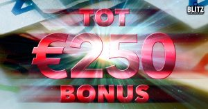 €250 Weekendbonus Blitz.be
