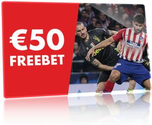 Juventus vs Atletico Madrid €50 Gratis Weddenschap Circus.be
