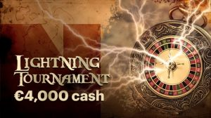 Lightning Roulette Toernooi €4000 Napoleon Sports & Casino
