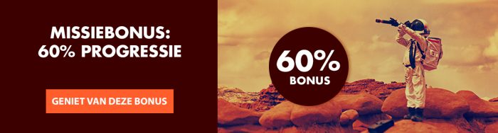 Mission to Marsbonus 60% Goldenvegas.be