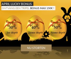 April Lucky Bonus Luckygames.be