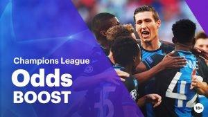 Verhoogde notering Champions League Club Brugge