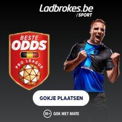 Online Sportweddenschappen bij Ladbrokes.be