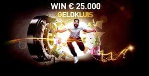 Geldkluis Jackpot €25.000 777.be