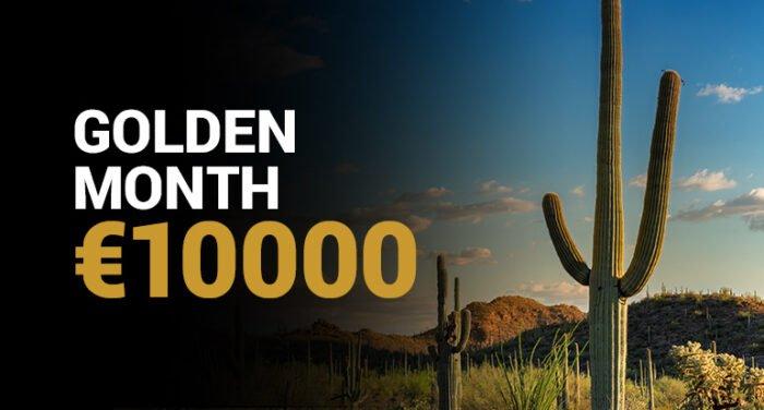 Gouden maand toernooi Goldenvegas