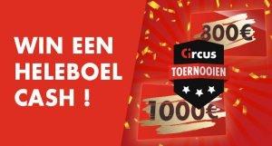 Meitoernooi Circus.be €3430