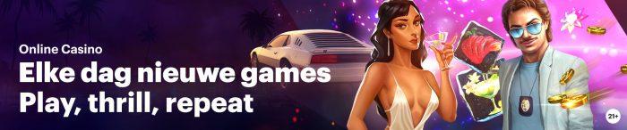 Napoleon Sports & Casino nieuwe spellen