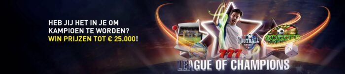 League of Champions toernooi 777 online casino