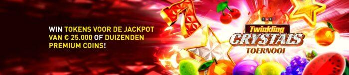 Twinkling Crystals toernooi Casino 777 Videoslots €25.000