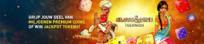 Slots & Dice toernooi Online Casino 777