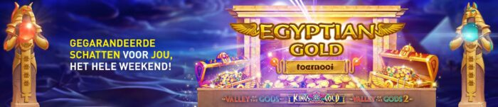 Egyptian Gold toernooi 777 online Casino 2020.