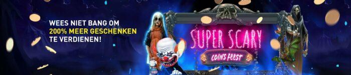 Halloween Super Scary Coin fest Griezel mee met online Casino 777