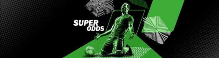 Super odds Champions League Online sportweddenschappen Winstverhoging Unibet