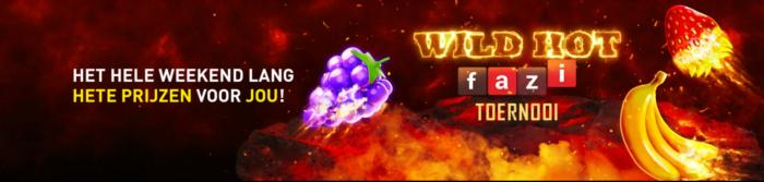 Heet Weekend bij Online Casino 777 - Wild Hot Fazi toernooi