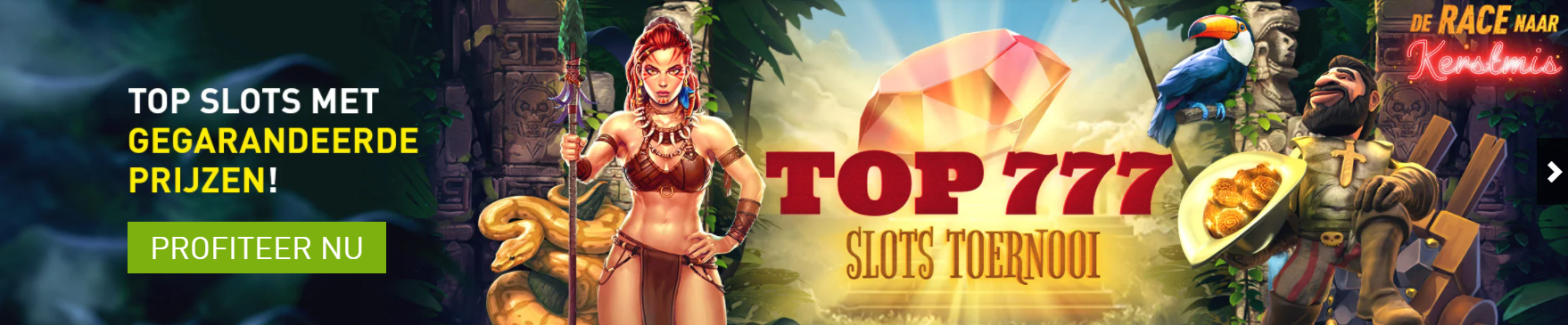 Top 777 Slots toernooi met Mega prijzen