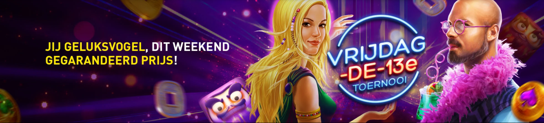 Vrijdag 13e toernooi van Casino 777