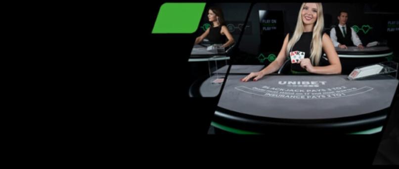 Live Casino Games Unibet Blackjack online speelhal Roulette 2021 Promotie €10.000 Prijzenpot