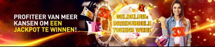 Driedubbele Geldkluis Tokens week Jackpot Casino 777 online speelhal Prijzenpot 2021