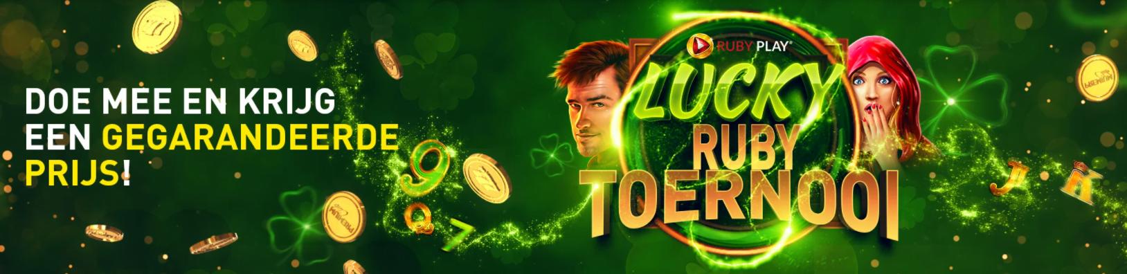 Ruby Play Lucky Ruby toernooi Casino 777 online speelhal Jackpot gegarandeerde Prijzenpot videoslots gokkast 2021